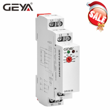 GEYA GRV8-08 Overvoltage Undervoltage Relay Phase Failure Phase Sequence Asymmetry Control Relay the phase protection relay 380v power broken phase fault phase overvoltage and undervoltage detection monitoring rd6 w