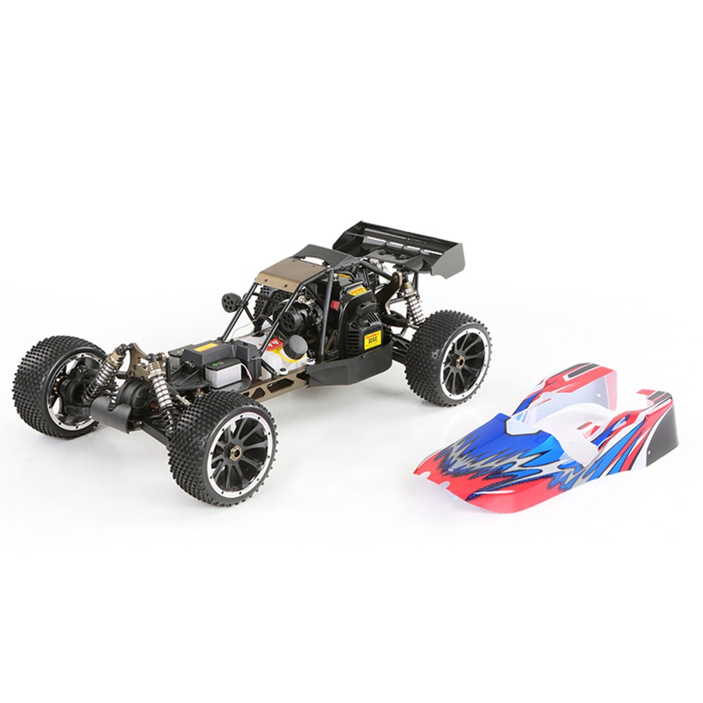 HSP 94054S Bajer 1/5 820mm Super Car 2.4Ghz 2CH 4WD 32CC Gasoline Powered 80Km/h High Speed Desert Buggy RTR Remote Control Car
