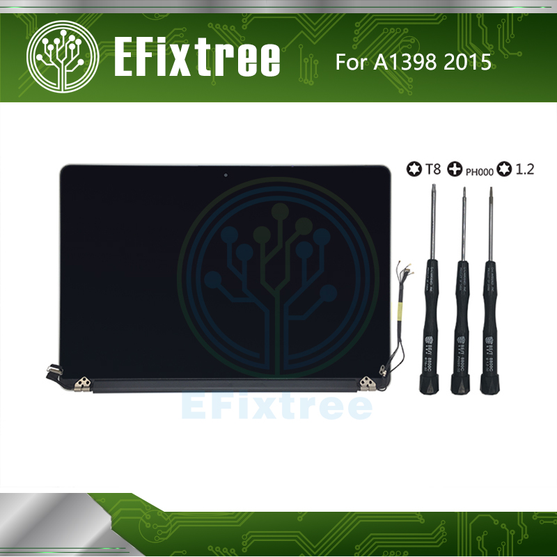 EFixtree 661-02532 15.4 Inch 2015 Year Display For Macbook A1398 LCD Screen Display Assembly Tested Perfect EMC 2909 EMC2910 image