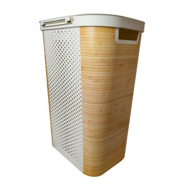 Laundry basket INFINITY 60L BAMBOO ...