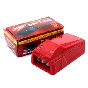 Image 3 - Manuale Triplo Tubo Sigaretta Iniettore Roller Maker Macchina di Laminazione Tabacco Maker Fumare erba Accessori Per Sigarette