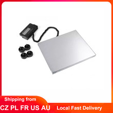 Bilancia per carichi pesanti LCD 660 Lb x 0.1 Lb spedizione digitale bilancia postale 300 Kg piattaforma postale scala sovraccarico indicazione di bassa potenza
