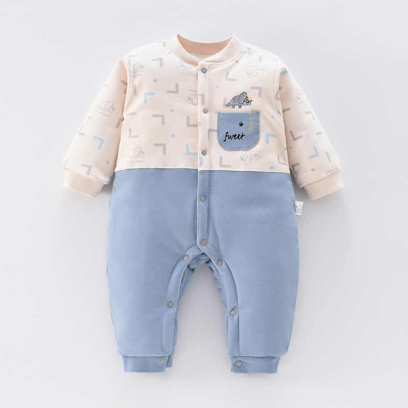 Newborn Baby Jumpsuit Spring Fall Winter Boys Baby Girls Rompers Romper Infant 100% Cotton Comfortable for Toddler Baby Onesies
