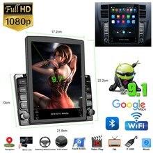 9.7in android 9.1 universal carro multimídia player de vídeo do carro fm rádio estéreo wifi mp5 player navegação gps quad core 2 din