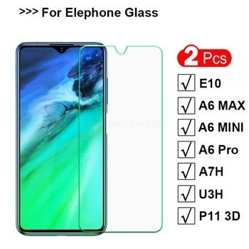 Перейти на Алиэкспресс и купить 2 шт. закаленное стекло для Lenovo K10 Note / K10 Plus защита экрана 9H закаленное стекло для Lenovo A6 Note Защитная пленка для телефона ^