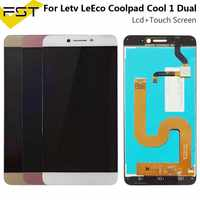 Per Letv Leeco Coolpad Fresco 1 Dual C106 C106-7 C106-9 C106-8 R116 C103 C107 Cool1 Dispaly Lcd + Touch Screen digitizer Assembly