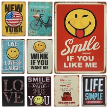 Get more info on the 30X20cm Ride Bicycle Love Life Simple Tin Sign Tintin Bar Pub Cafe Signs Vintage Metal Plaque Rerto Plate Poster Wall Decor H89
