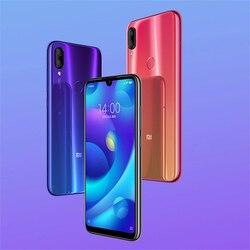 Wersja globalna Xiaomi telefon 4GB 6GB RAM 64GB ROM 5.84 Cal wyświetlacz FHD Mtk Helio P35 Octa- rdzeń 12MP podwójne kamery telefonu komórkowego 4