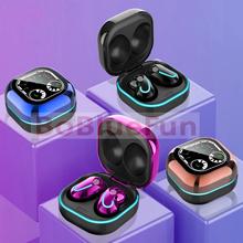 S6 TWS słuchawki bezprzewodowe słuchawki Bluetooth Mini słuchawki wodoodporne słuchawki muzyczne słuchawki sportowe Stereo dla iphone' ów Xiaomi tanie tanio CIRCE douszne NONE Technologia hybrydowa CN (pochodzenie) Prawdziwie bezprzewodowe Do gier wideo Zwykłe słuchawki do telefonu komórkowego
