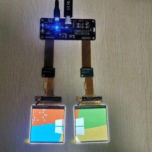 Image 2 - 2.9 นิ้ว 2K 2880*1440 120Hz Dual หน้าจอ LCD DP TO MIPI สำหรับ AR VR MR HMD ชุดหูฟัง DIY ชุดสนับสนุน Windows MAC