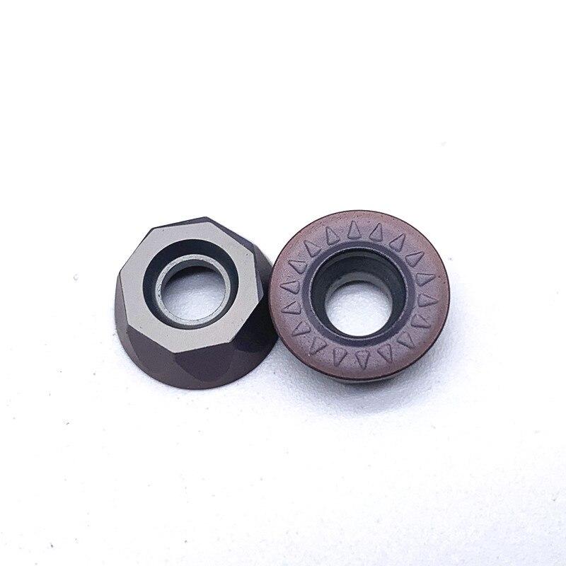 Купить с кэшбэком RPMT1204 MO E VP15TF Turning Tool Carbide Insert RPMT 1204 Face Mill Lathe Milling CNC Tools Milling Cutter Milling Tools
