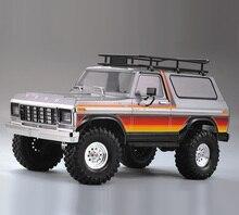 Thân Bằng Nhựa Cứng Xe Vỏ 313 Mm Ba Lô Bánh Xe Chưa Lắp Ráp Cho 1/10 RC Xe Bánh Xích Trục SCX10 Traxxas TRX4 Ford Bronco Redcat GEN8