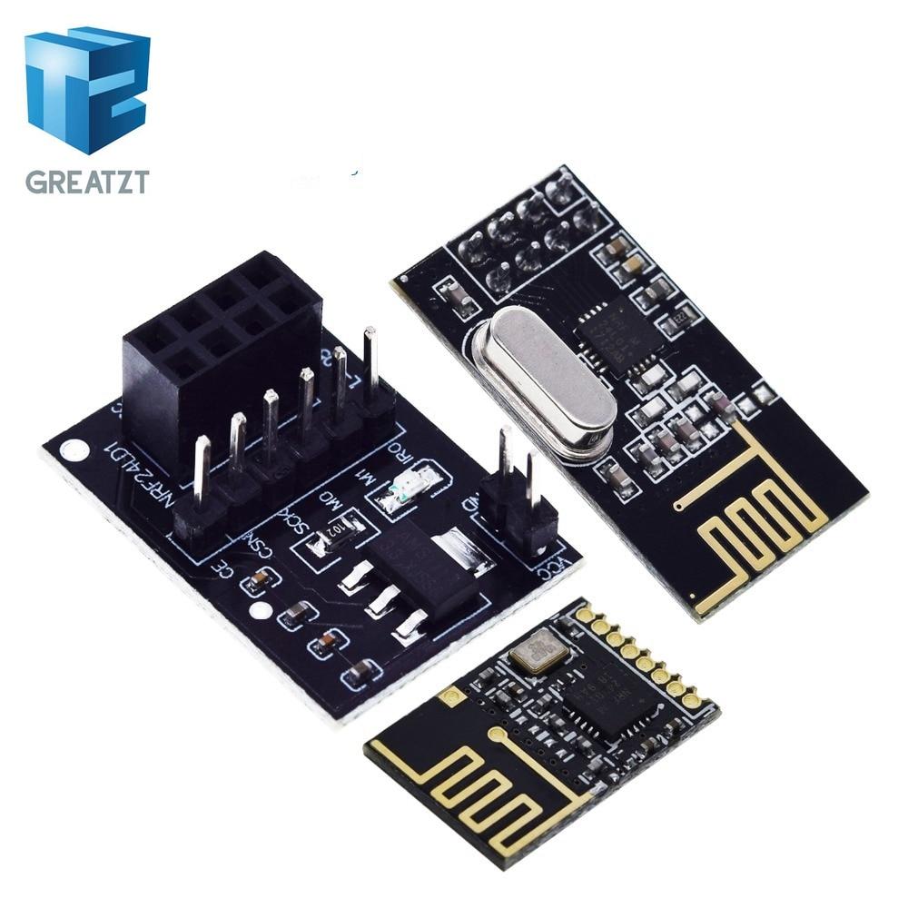 NRF24L01+ wireless data transmission module 2.4G / the NRF24L01 upgrade version 2Mbit/s NRF24L01 Socket Adapter plate Bo|wireless module|diamond blackdiamond lot - AliExpress