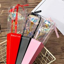 Rosa Artificial colorida, Rosa única, regalos únicos para niñas, suministros para el Hogar, Necesidades Del Hogar, 2021 # GM