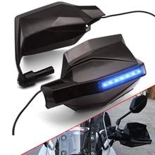 Handguards da motocicleta à prova de vento proguard sistema guarda engrenagem lâmpada sinal para suzuki bandit 650 dl1000 gsf1250 gsf650 dl650 gsf1250