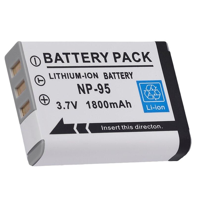 Batería/cargador NP-95 NP95 para FUJIFILM Finepix Fuji X100S X100 X-S1 F30 F31fd tipo: 1 Unidad x batería de NP-95 La más alta lúmenes, la más potente linterna LED XHP90 de largo alcance con Zoom táctico XHP70.2, lámpara de antorcha LED con batería 26650 de gran alcance