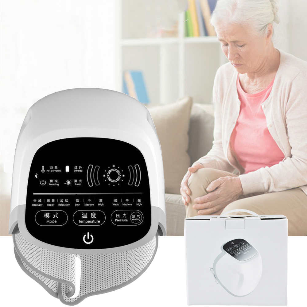 Купить с кэшбэком Joint Arthritis and Knee Pain Treatment Massager with Far Infrared Thermal Therapy Home Use Device