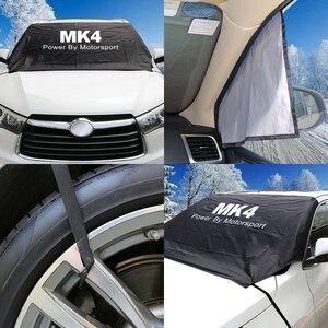 Image 3 - Auto Windschutzscheibe Schnee Eis Staub Block Wasserdichte Sonnenschutz Protector Abdeckung Für Ford Focus MK1 MK2 MK3 MK4 2 3 1 4 Auto Zubehör