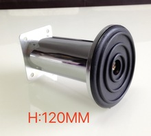 4Pieces/Lot H:120MM Furniture Accessories Stainless Steel Sofa Cabinet Leg Feet Bed Foots