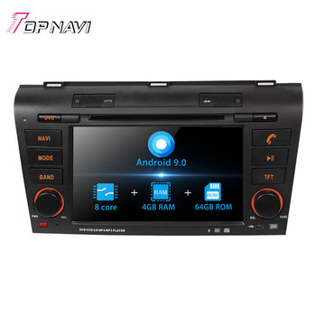 Autoradio 7'' Octa Core Android 9.0 Car Radio GPS Navigation For MAZDA 3 2004 - 2009 Stereo Audio DVD Multimedia Player 2 Din image