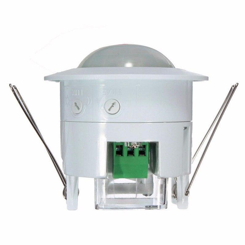 Home Security Alarm Systen 360 Degree Infrared PIR Detection  IR Recessed Motion Sensor Detector Auto Light Switch Motion Sensor