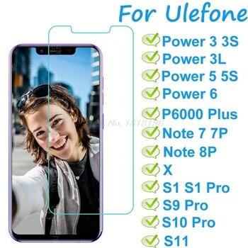 Перейти на Алиэкспресс и купить Защитная пленка для Ulefone Power 3 3S 3L 5, 6, P6000, закаленное стекло, Ulefone S1, S9, S10, S11, Note 7, 7, P, 8P