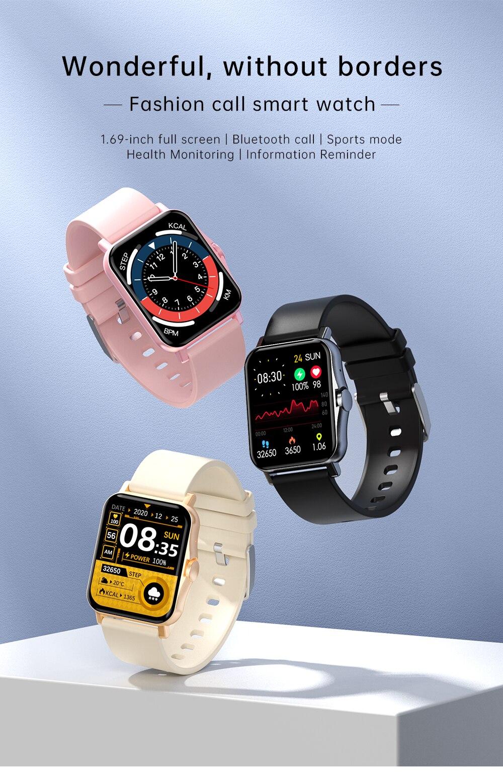 H8806e7c0f7c748cba10e3addadd26665K Reloj Inteligente Mujer Smartwatch Android Men 2021 Smart Watch Man Bluetooth Call Smartwatch Women For Xiaomi Mi Phone GTS 2