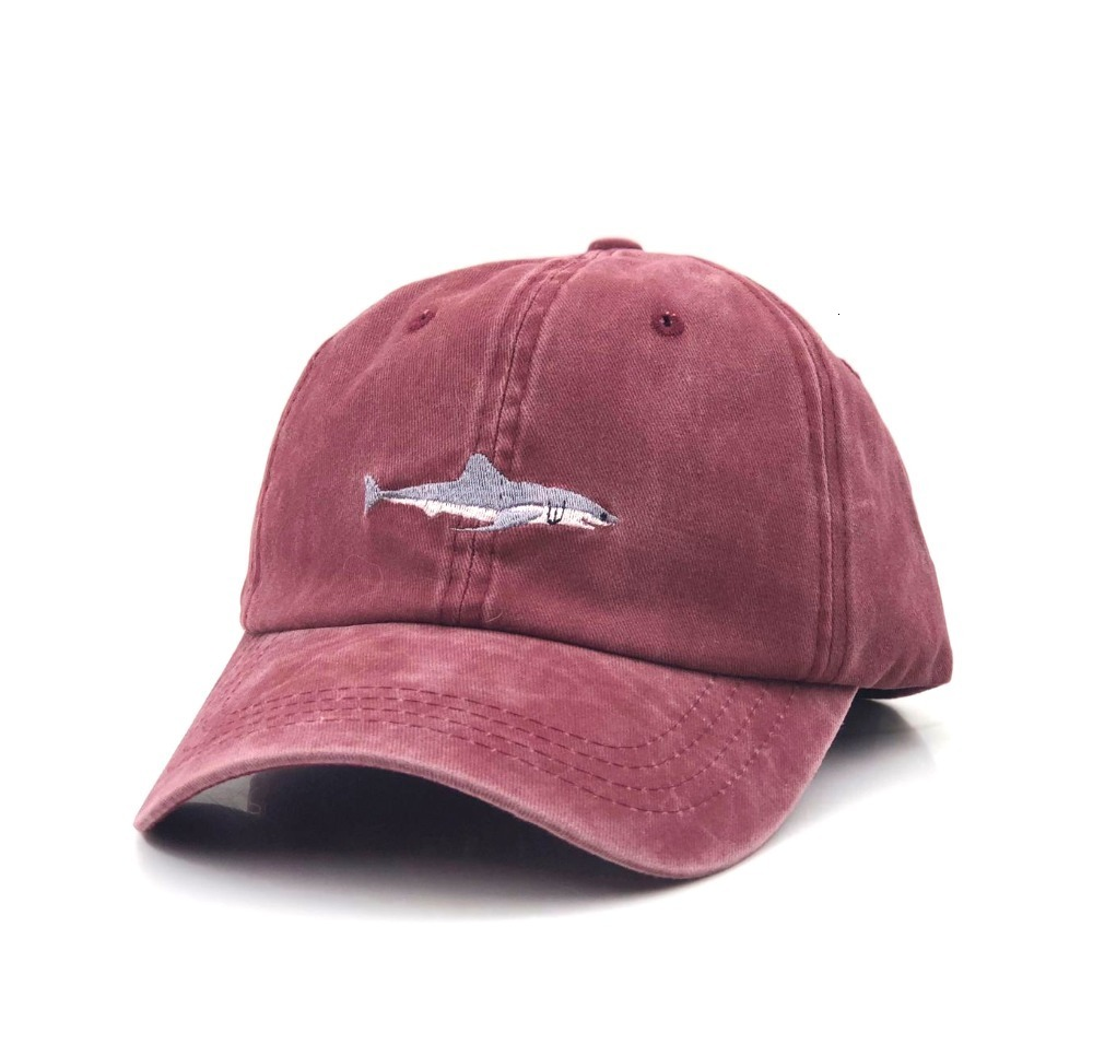 H8806f06b3fa645c0b7cf2a48b8c0504eE - which in shower stitched shark snapback man cap baseball cap hip hop embroidery curved strapback dad hat summer fish sun hat cap