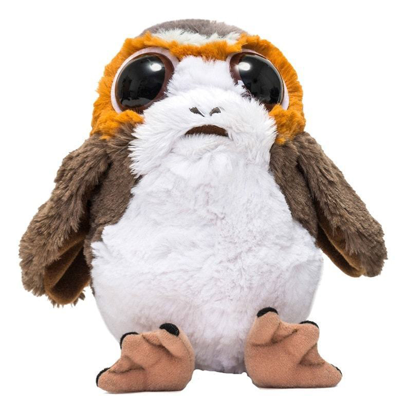 Star Wars Porg Plush Toy  Soft Bird Animal Doll For Children Gift 9.8''