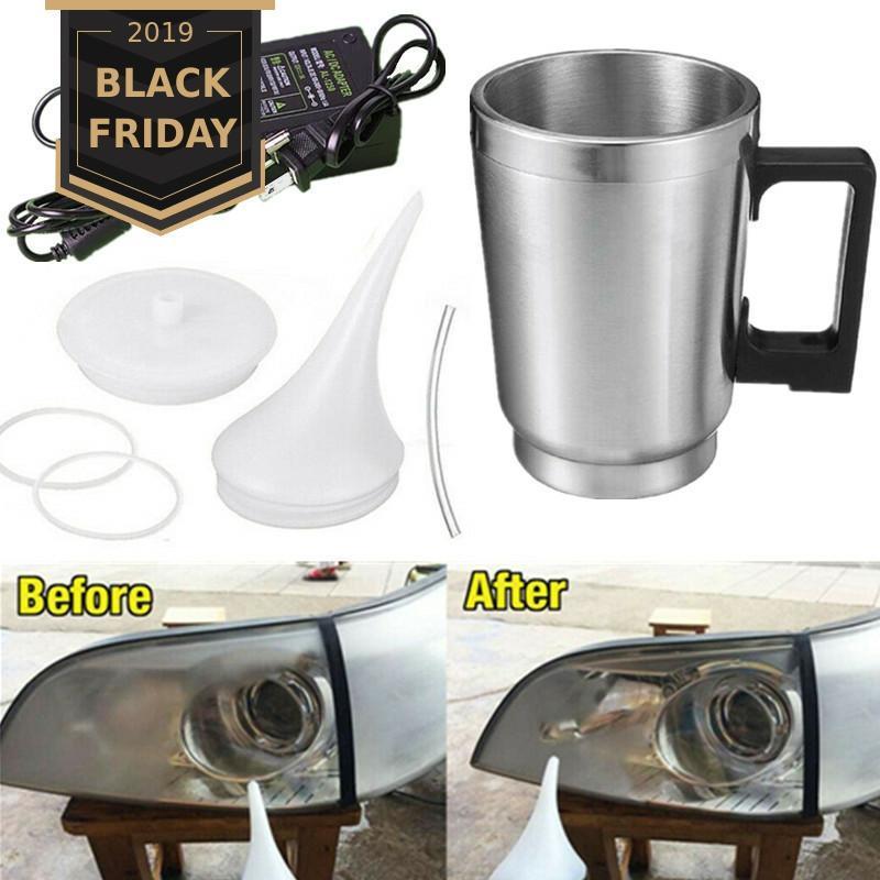 Headlight Polishing Cup Car Headlight Refurbished Atomizing Cup Lens Restoration Kit Restorer System Polishing Cleaning Tool