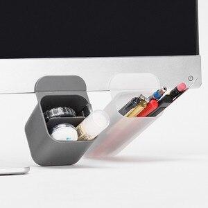 Image 4 - SIXONE 간단한 스타일 붙여 넣기 유형 데스크탑 디스플레이 포켓 Penholder 독창성 사무실 펜 잡다한 상자 컴퓨터 펜 컨테이너