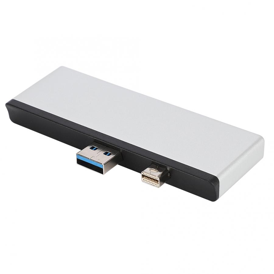 <font><b>USB</b></font> 3.0 <font><b>HUB</b></font> HDMI Adapter Dock TF-Card Splitter <font><b>Port</b></font> for Surface PRO <font><b>4</b></font>/5/6 5Gbps Data Transmission 4K Video Docking Station image