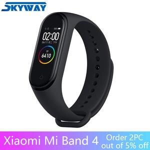 Xiaomi Mi-Band Smart-Bracelet Screen AMOLED Bluetooth Waterproof 50m 4 120X240 Full-Color