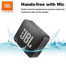 JBL-altavoz GO2 GO 2 con Bluetooth, inalámbrico, portátil, IPX7, resistente al agua, para deportes al aire libre, batería recargable con micrófono