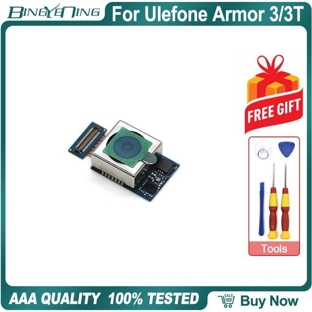 100% 新オリジナルulefone鎧3/3tリアカメラ21.0MPモジュール修理交換アクセサリー部品電話アクセサリー