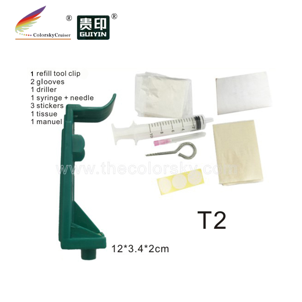 (T2) Professional Refill Holder Tool For HP 51640 51645 6615 240 45 15 HP51645 HP6615 HP51640 HP240 HP45 HP15