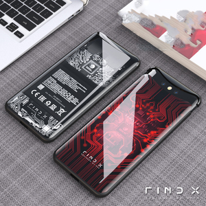 Image 2 - for OPPO Find X Case 6.42 6D Curved Tempered Glass Phone Case Cover for OPPO Find X FindX Cover 360 Full Protective Funda Capa