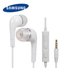 Samsung ehs64 3.5mm com fio fones de ouvido música fones de ouvido em linha controle fone de ouvido telefone inteligente fones de ouvido com microfone telefone inteligente