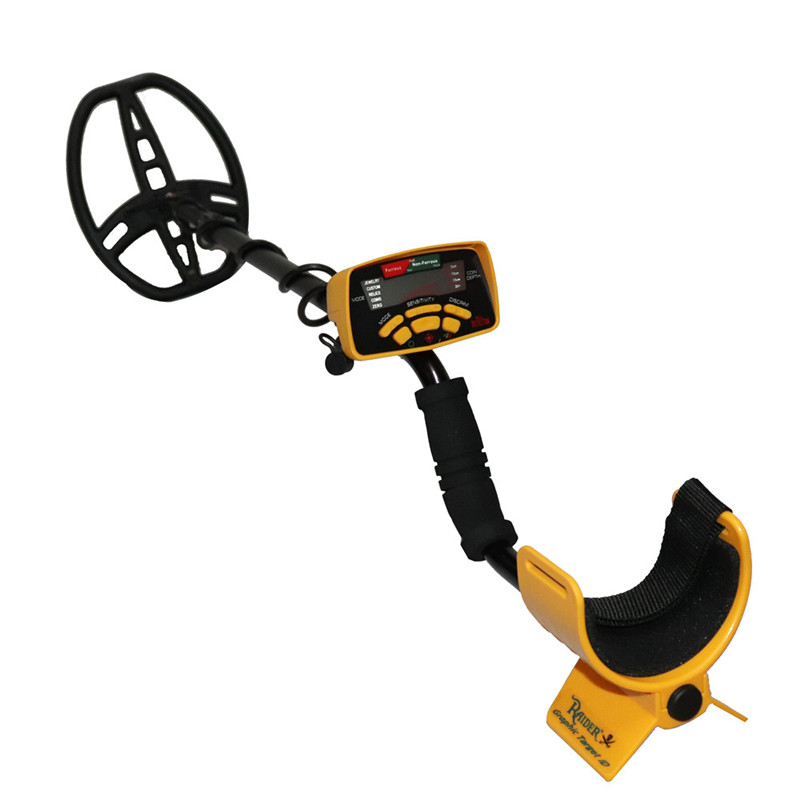 Professional Underground Metal Detector <font><b>MD6350</b></font> Gold Finder Treasure Hunter MD6250 Updated MD-6350 Pinpointer LCD Display image