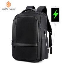 Водонепроницаемый нейлоновый рюкзак ARCTIC HUNTER для ноутбука 15,6 дюйма, повседневный деловой мужской рюкзак для компьютера, ударопрочный компьютерный рюкзак для мужчин