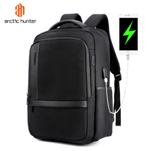 ARCTIC HUNTER Male  Waterproof 15.6inches Laptop Nylon Casual Business Mens Computer Backpack Shockproof Computer Compartment