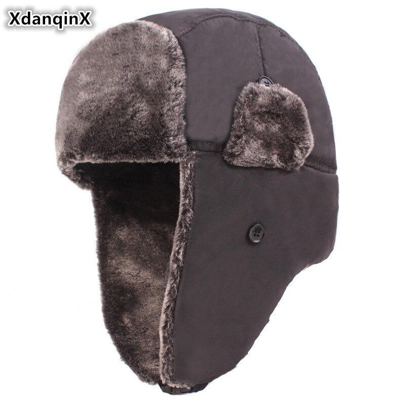 New Winter Thickening Plus Velvet Baseball Cap Women Mens Autumn and Winter Warm Winter Earmuffs Cotton
