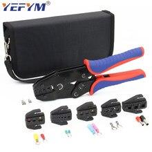 YEFYM – pince à sertir électrique multifonction 230mm, outils de remplacement rapide, Kit de bornes de câble en acier au carbone