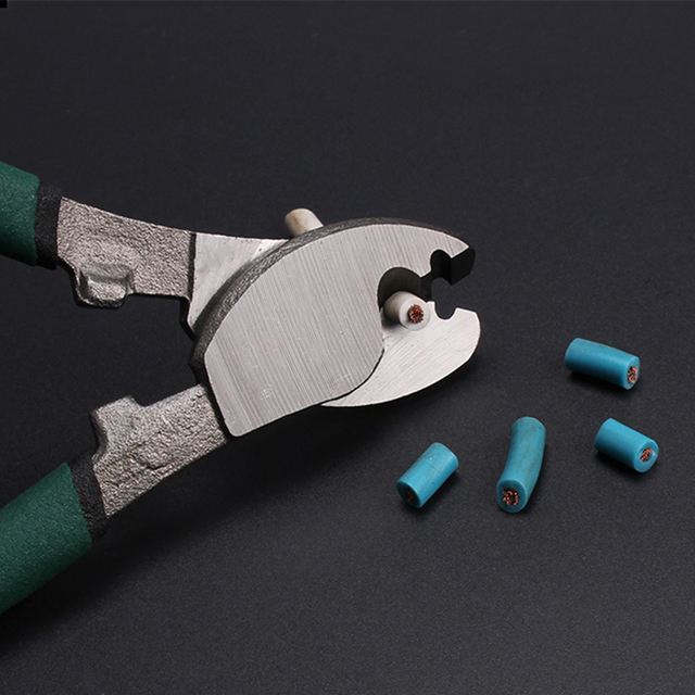 QUK Pliers Wire Stripper Cable Cutter Multitool Stripping Cutting Plier Set Side Snips Industrial-grade Electricians Hand Tools 2
