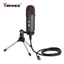 Usb компьютерный микрофон yarmee yr06 профессиональный для ПК