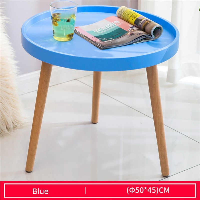 wood cute coffee table multiple colors