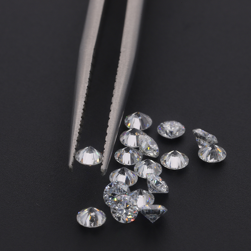 Diamantes de Alta Diamante para o Ajuste da Jóia Starszuan Frouxo Laboratório Crescido Qualidade Hthp 2.2mm Def vs