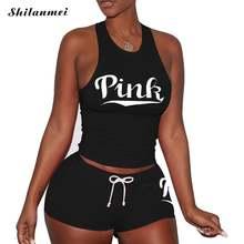 Женский спортивный костюм из двух предметов повседневный черный