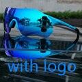 Nuovo Occhiali Da Sole Polarizzati ciclismo occhiali regolabile 3 lens bici da strada occhiali da sole Uomo outdoor occhiali di protezione di sport della bicicletta Occhiali accessori evzero