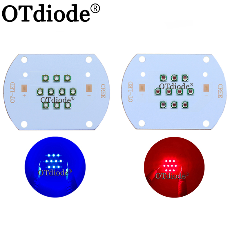 Hydroponice CREE 30W COB Led Grow Light Chip XPE Royal Blue 450nm Deep Red 660nm For Indoor Plant Seedling Grow And Flower